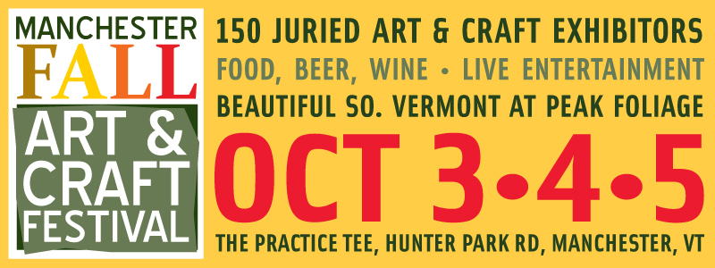 MAnchester Fall Art and Craft Festival, Vermont