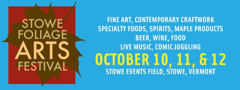 Stowe Foliage Arts Festival Vermont