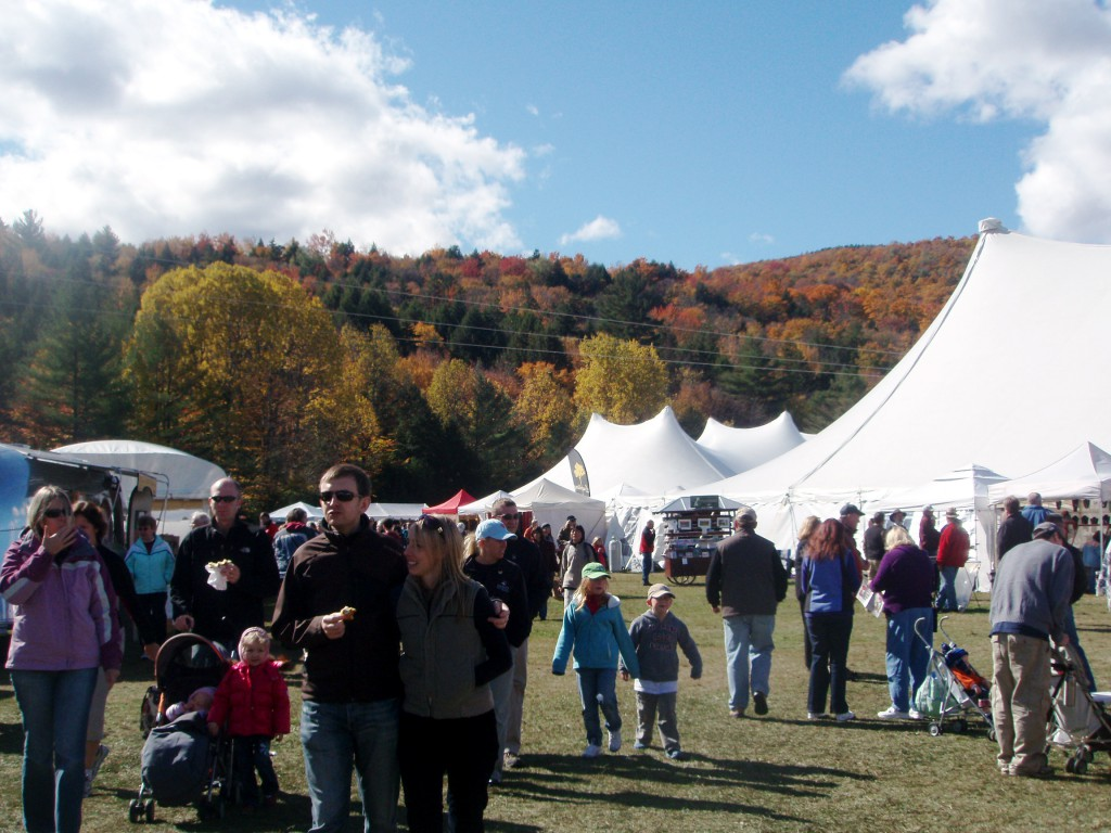 October Art and Craft Festival in Manchester Vermont
