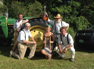 Bondville Boys perform at the Southern Vermont Art and Craft Festival in Bennington VT