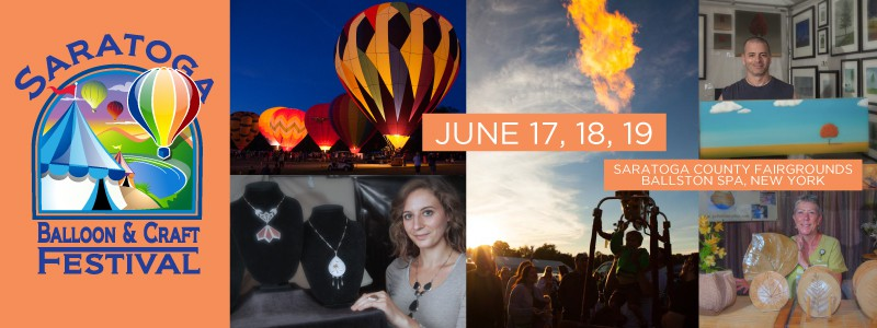 Saratoga Balloon and Craft Festival in June 2016