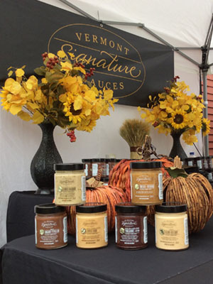 Vermont Signature Sauces at the Manchester Fall Art and Craft Festival