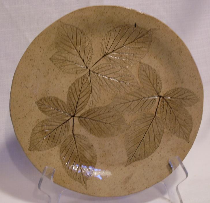 leaf plate by Lynne Puhalla
